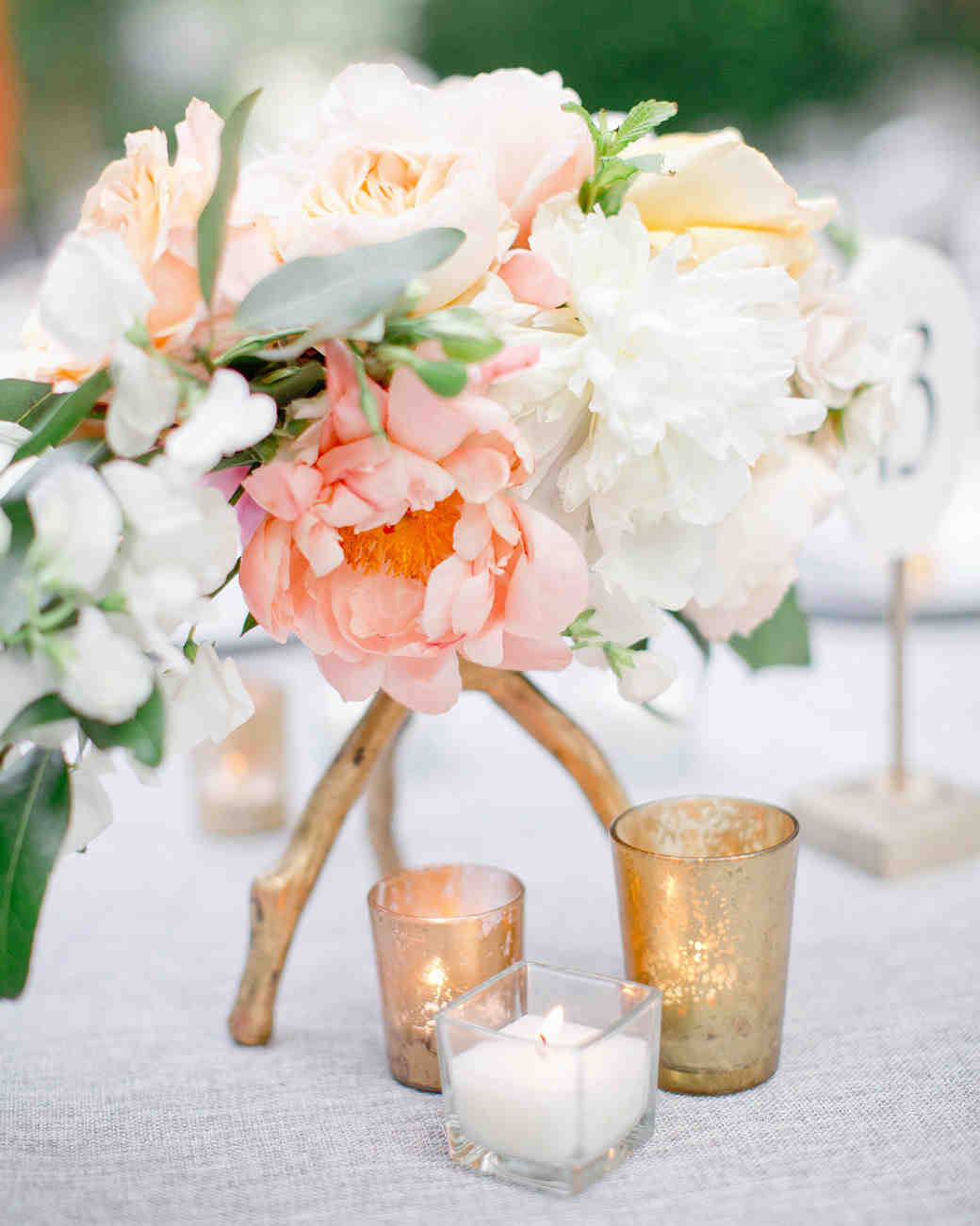 peony centerpieces harwell photography