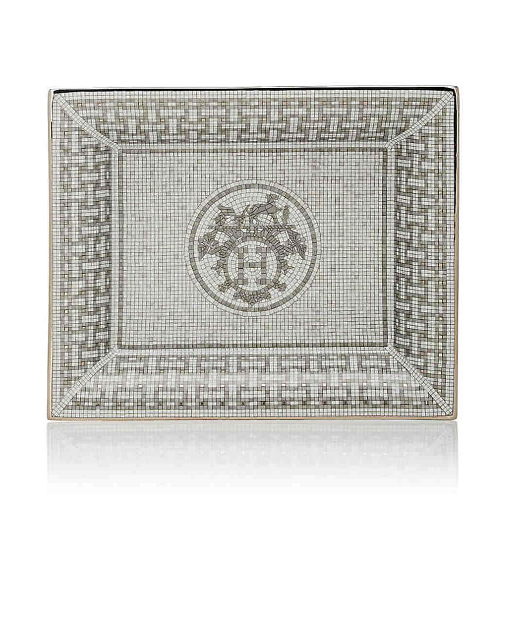 platinum anniversary gifts hermes tray
