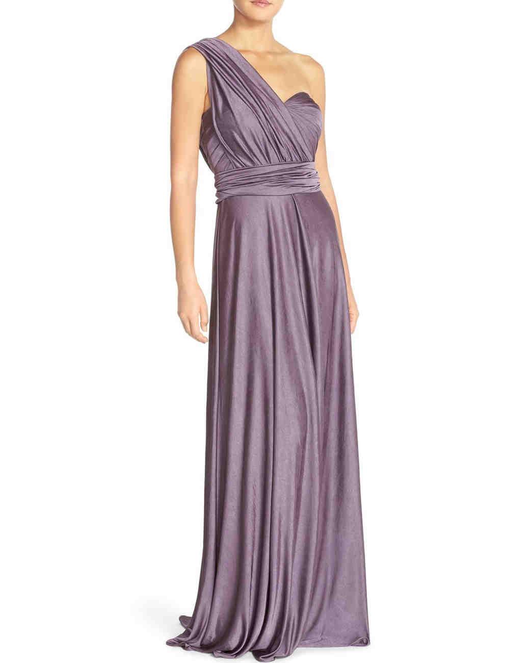 Purple Bridesmaid Dresses | Martha Stewart Weddings