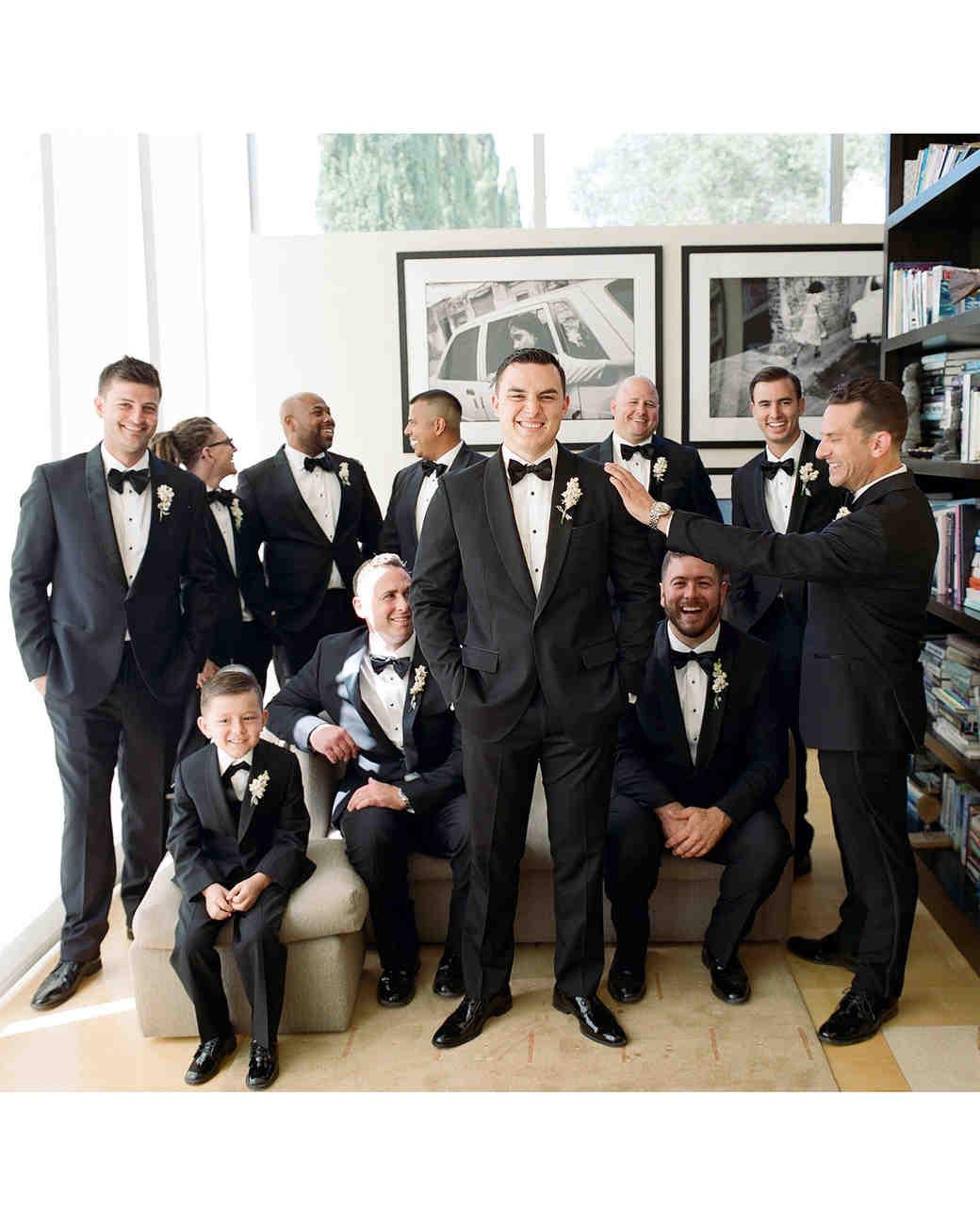 rae rob wedding groomsmen