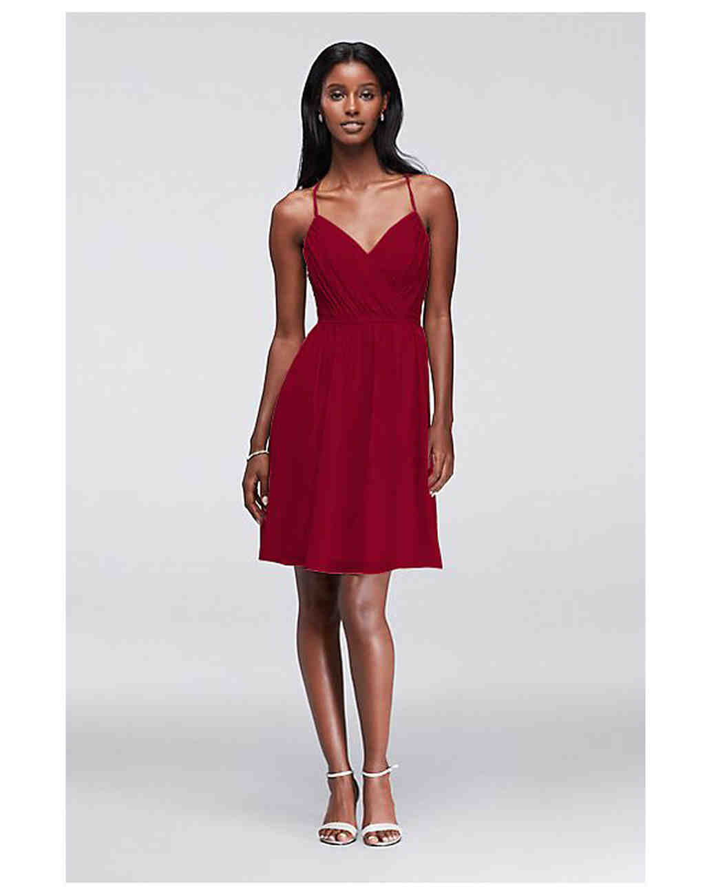 db62e27a1e63 28 of Our Favorite Short Bridesmaids' Dresses | Martha Stewart Weddings