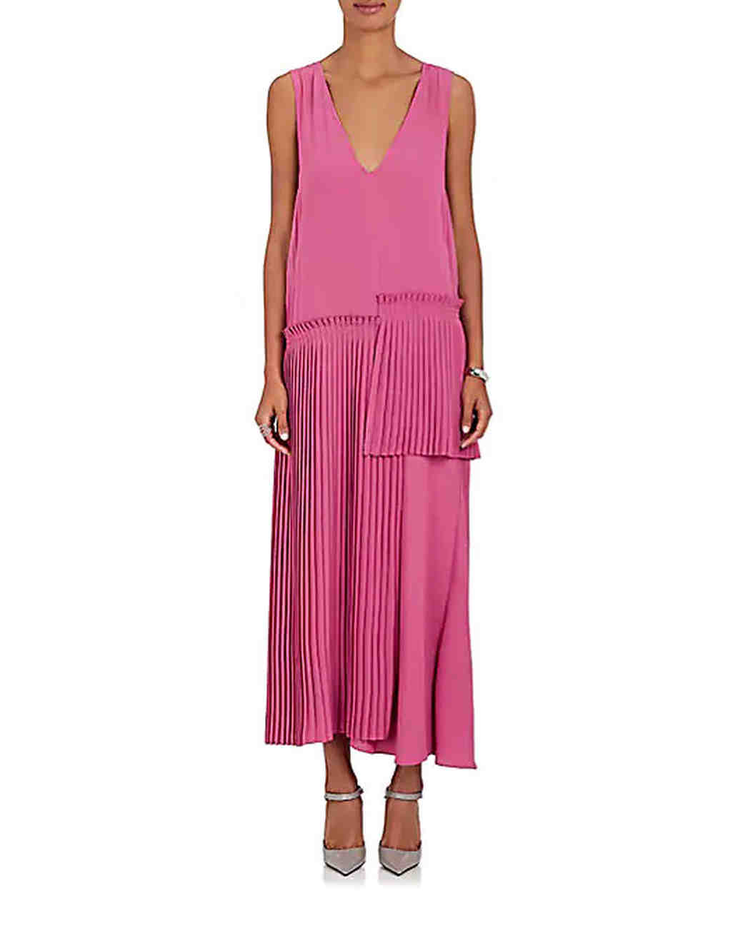 MM6 Maison Margiela crepe maxi dress