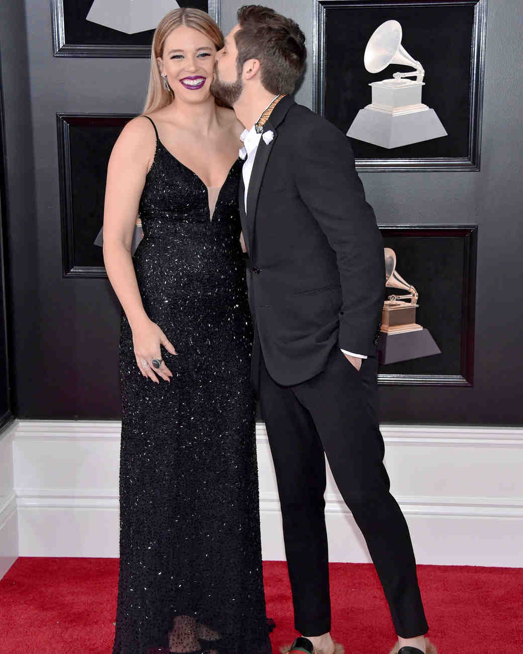 Thomas Rhett and Lauren Akins 2018 Grammy Awards