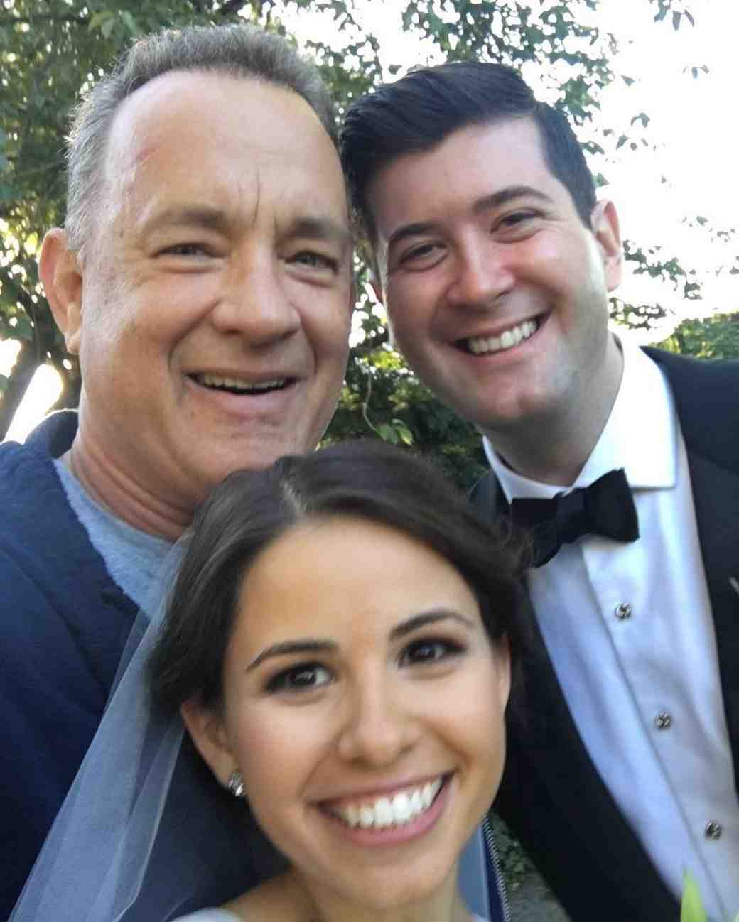 Tom Hanks Crashes Wedding Photos