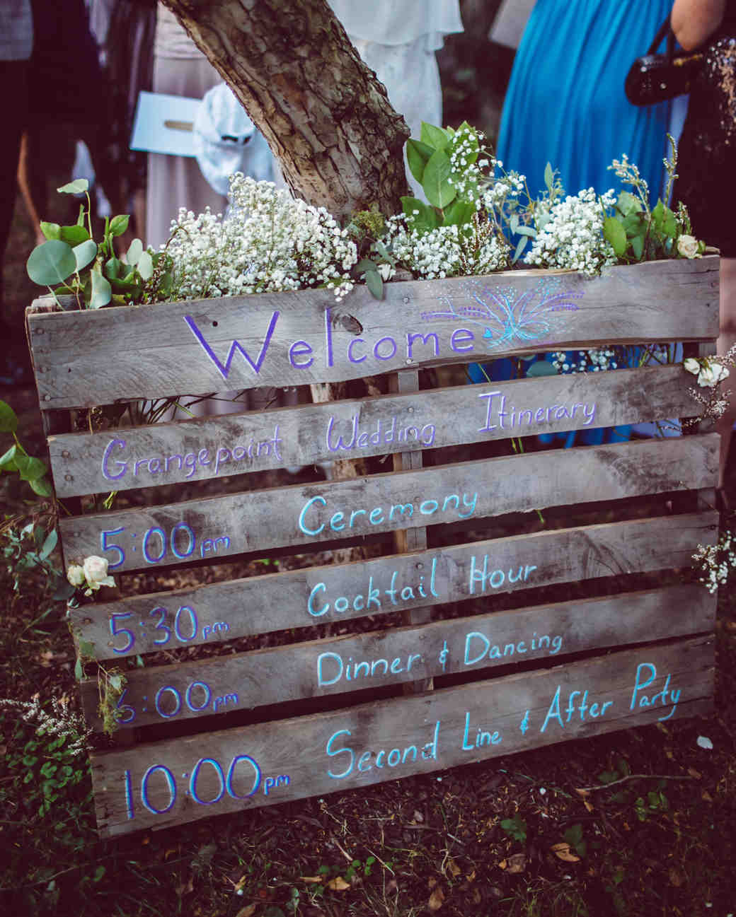 vasthy mason wedding sign