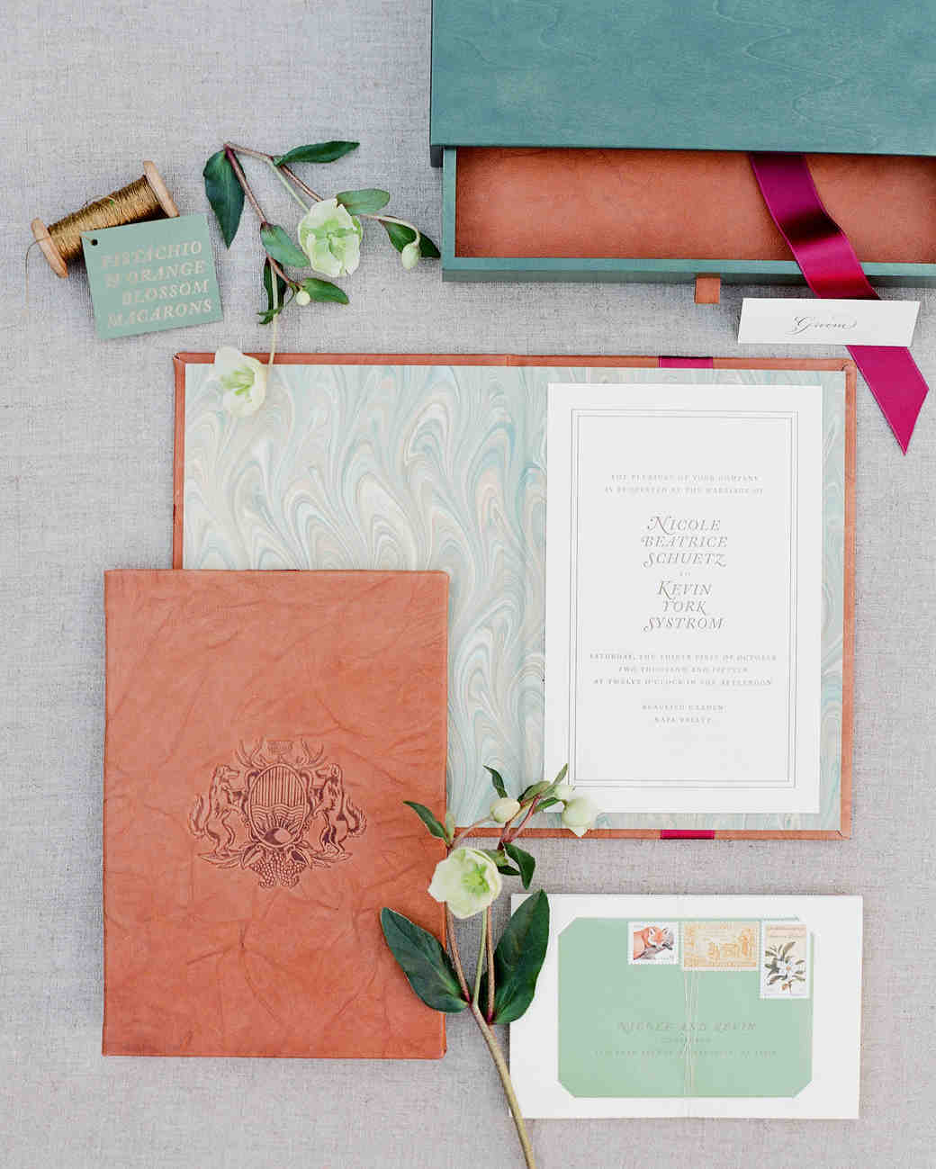 Trending Now: Boxed Wedding Invitations | Martha Stewart Weddings