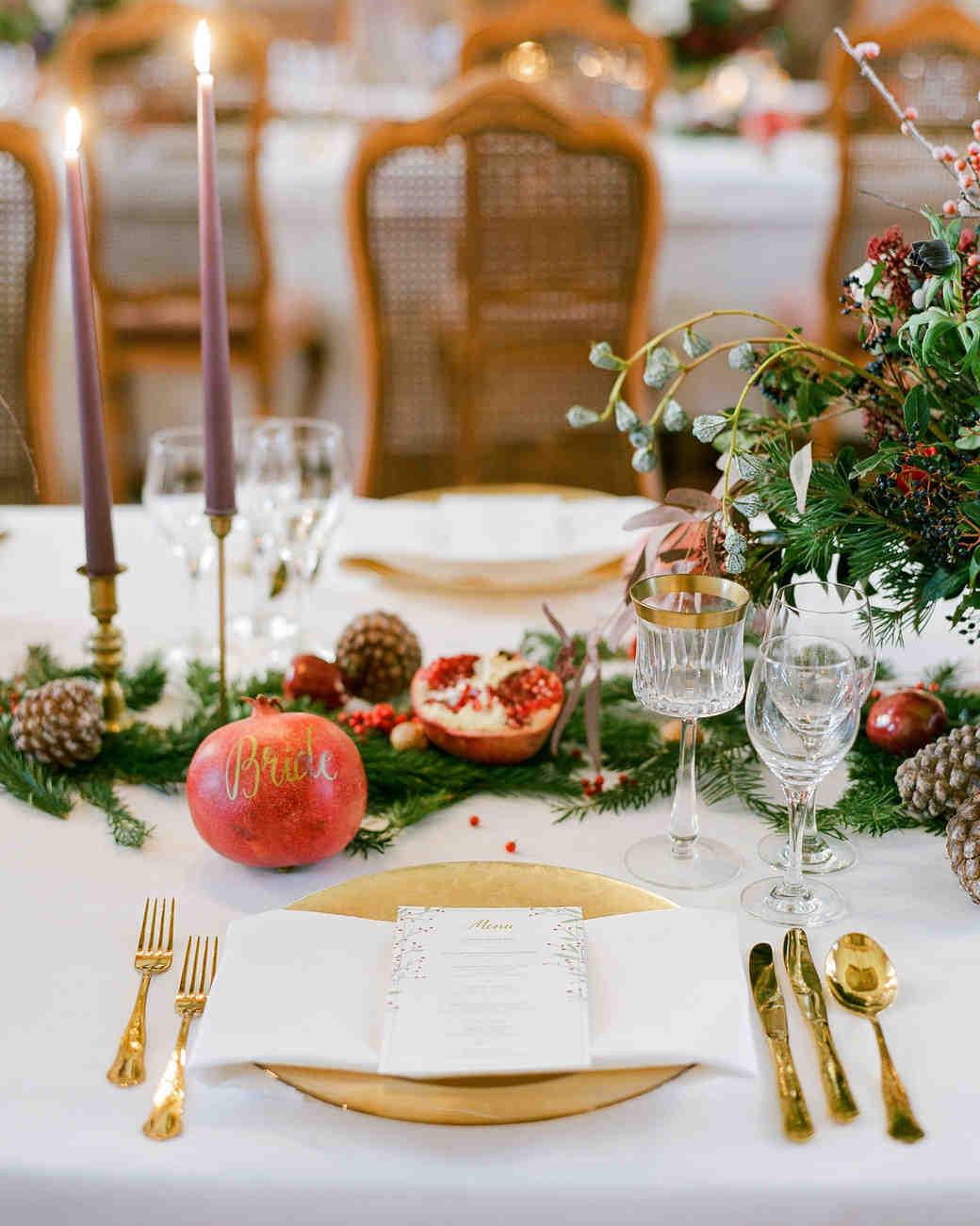 winter wedding centerpieces that nod to the season martha stewart rh marthastewartweddings com winter table decorating ideas winter wonderland table centerpieces