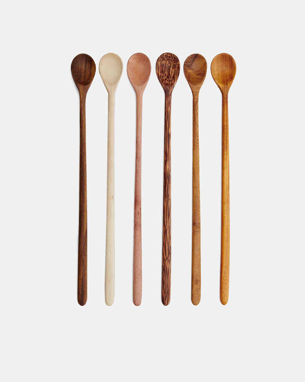 wood anniversary gift spoons