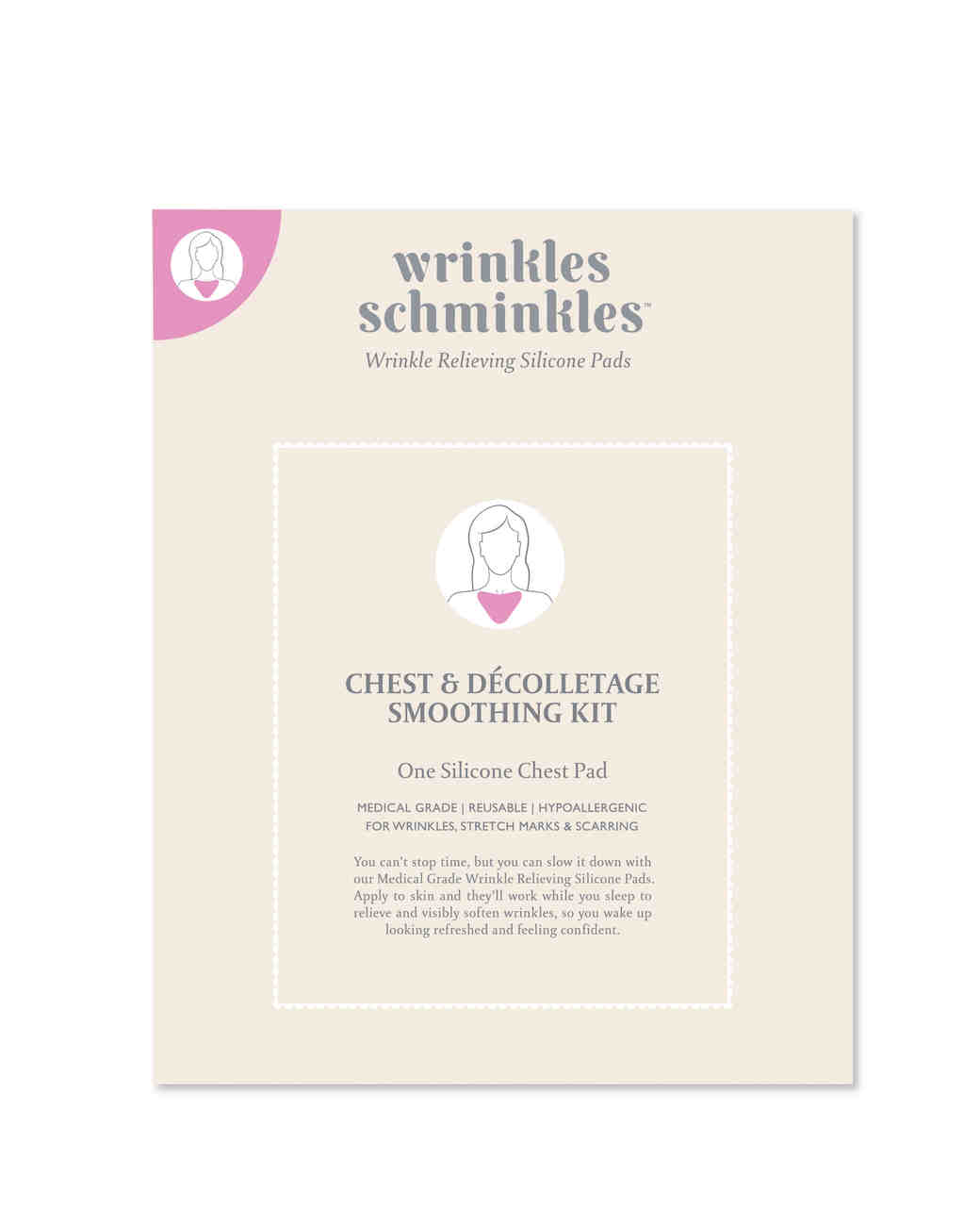 Wrinkles Schminkles Silicone Chest Pad