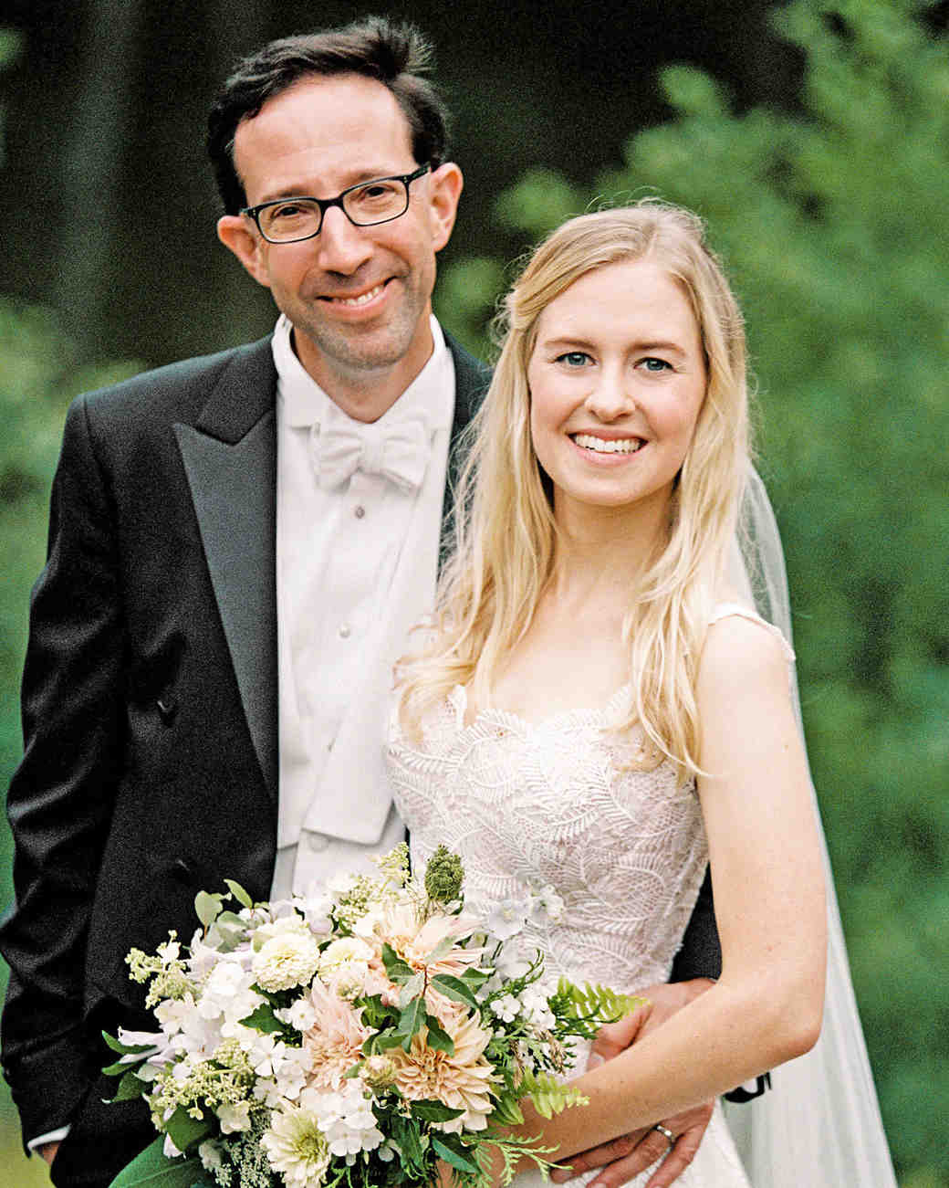 adele seth wedding michigan couple