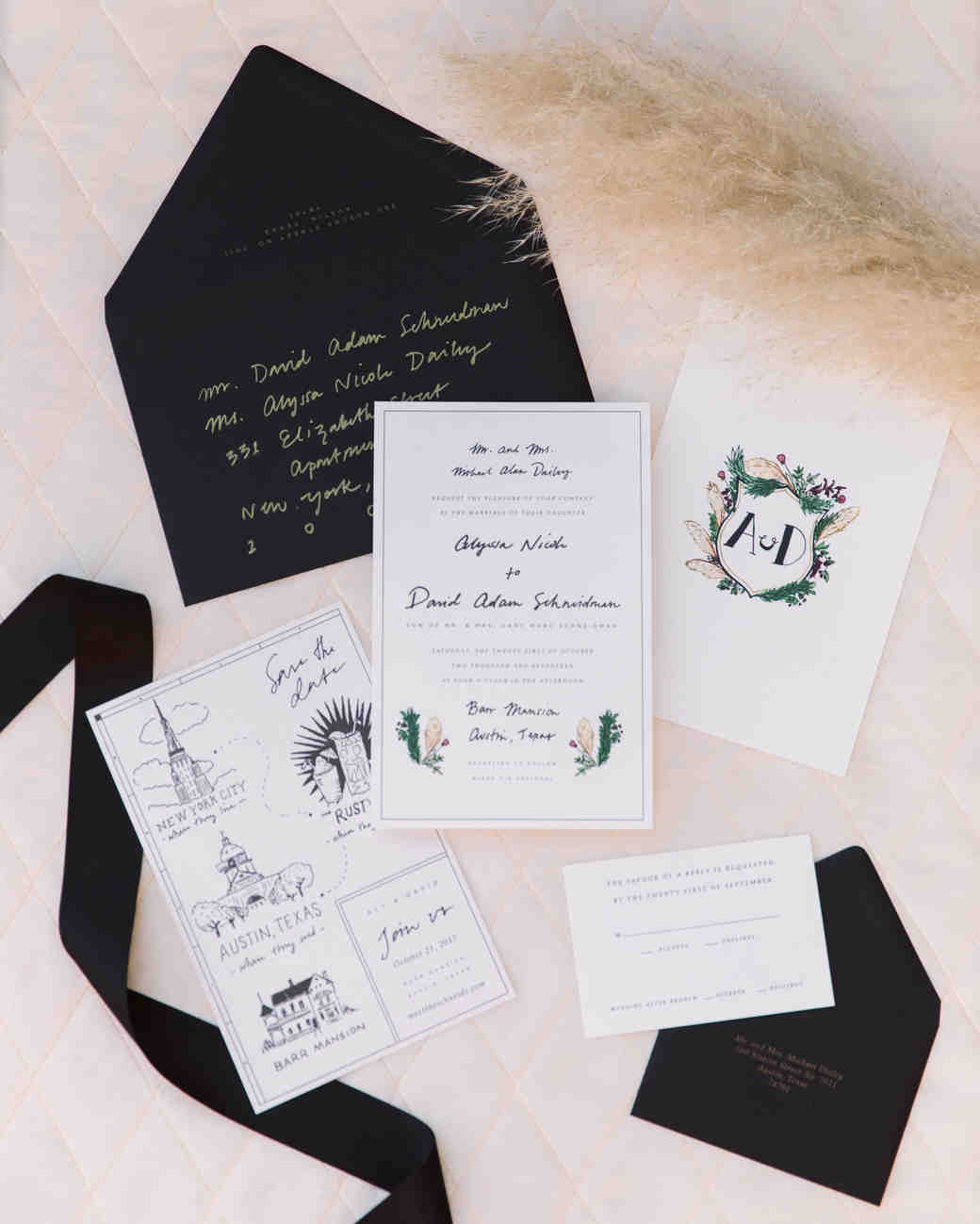 wedding stationary invitations