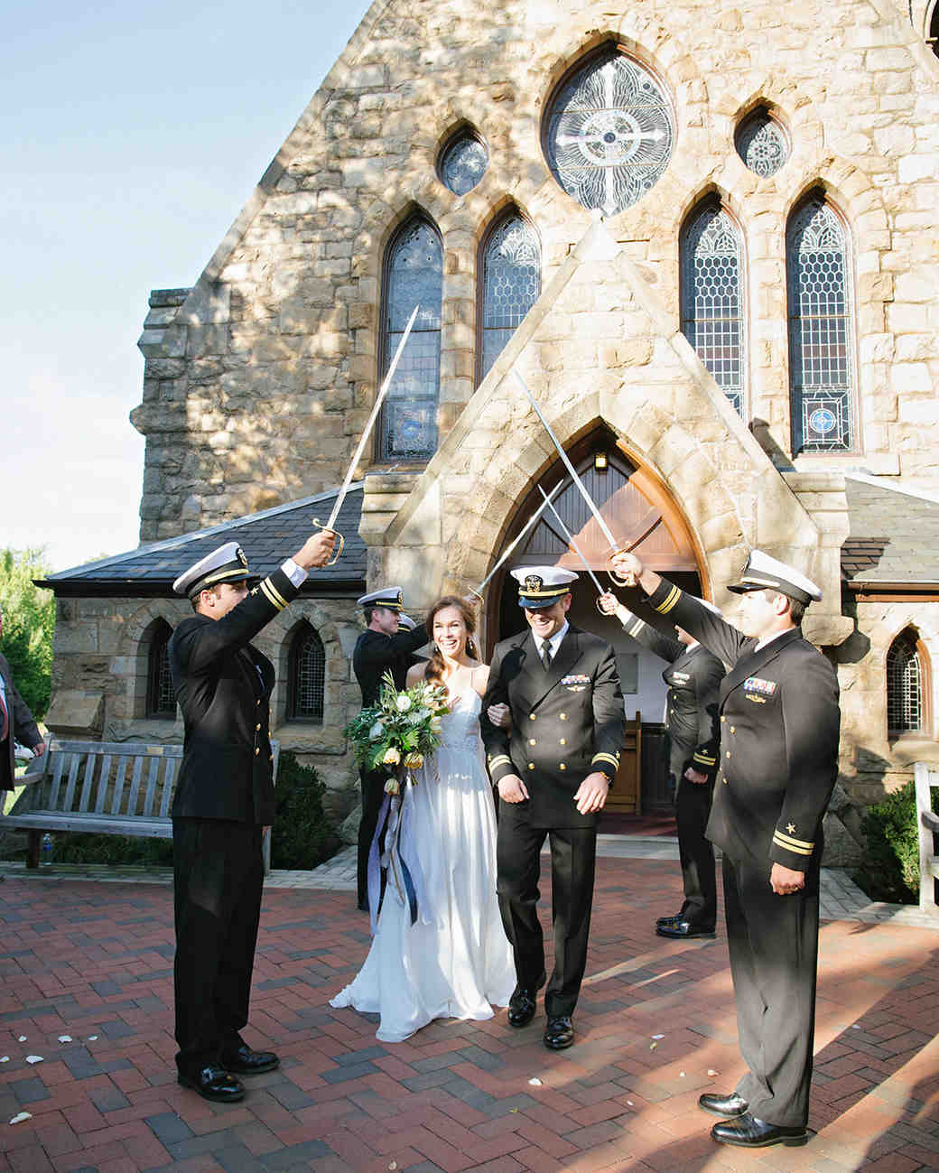 25 creative wedding rituals that symbolize unity martha stewart anne and staton wedding saber arch buycottarizona Images