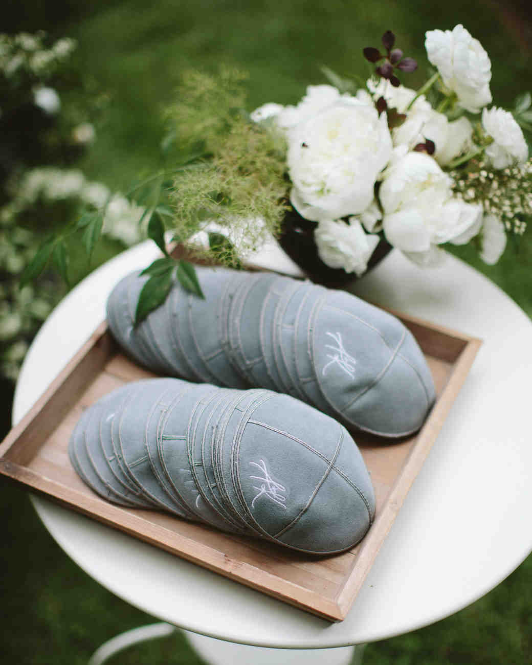 wedding yarmulkes