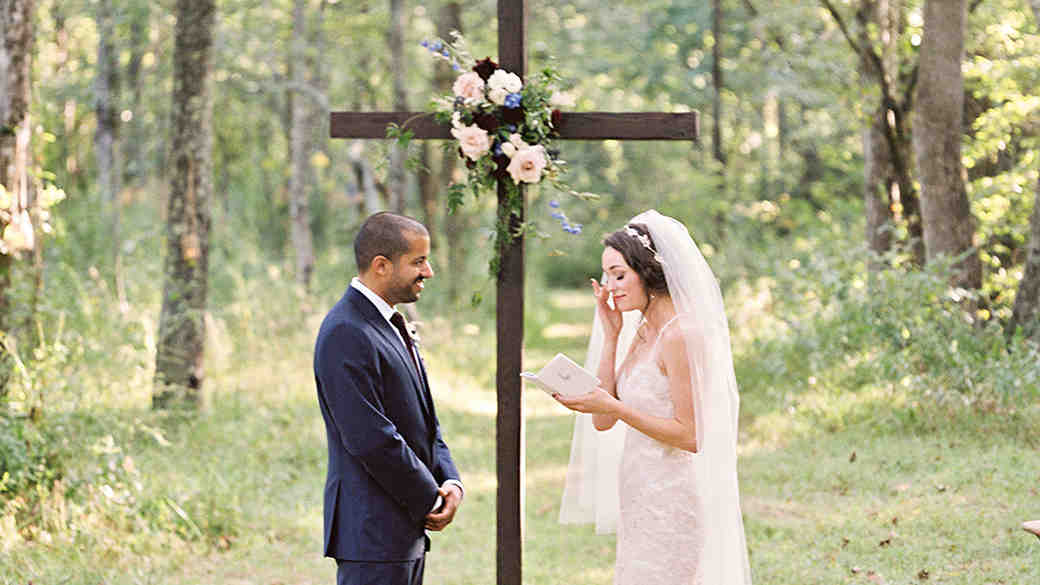 ashley and justin wedding ceremony vows