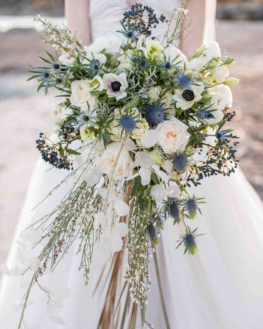 blue bouquet krista fox d&dfloraldesigns