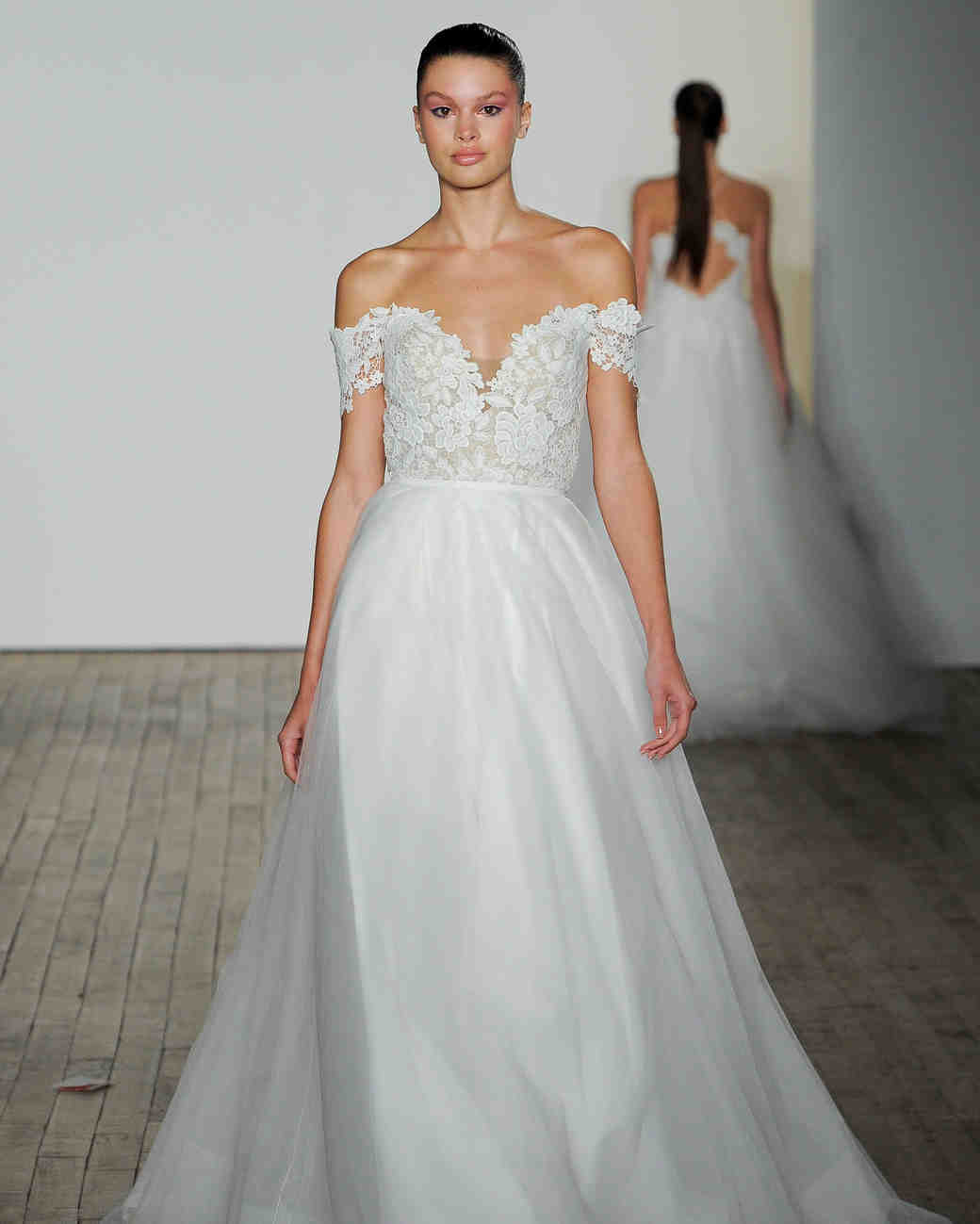 7f3b9b3f12d0 Blush by Hayley Paige Fall 2019 Wedding Dress Collection | Martha Stewart  Weddings