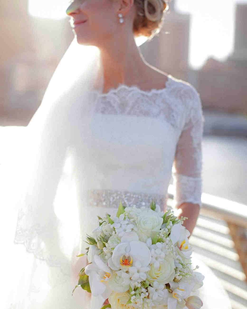 Boat Neckline Wedding Dress