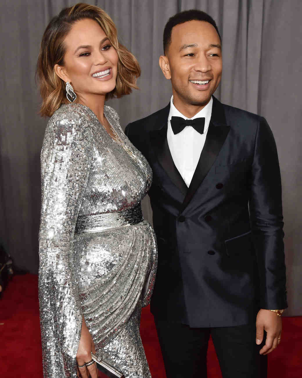 Chrissy Teigen and John Legend 2018 Grammy Awards