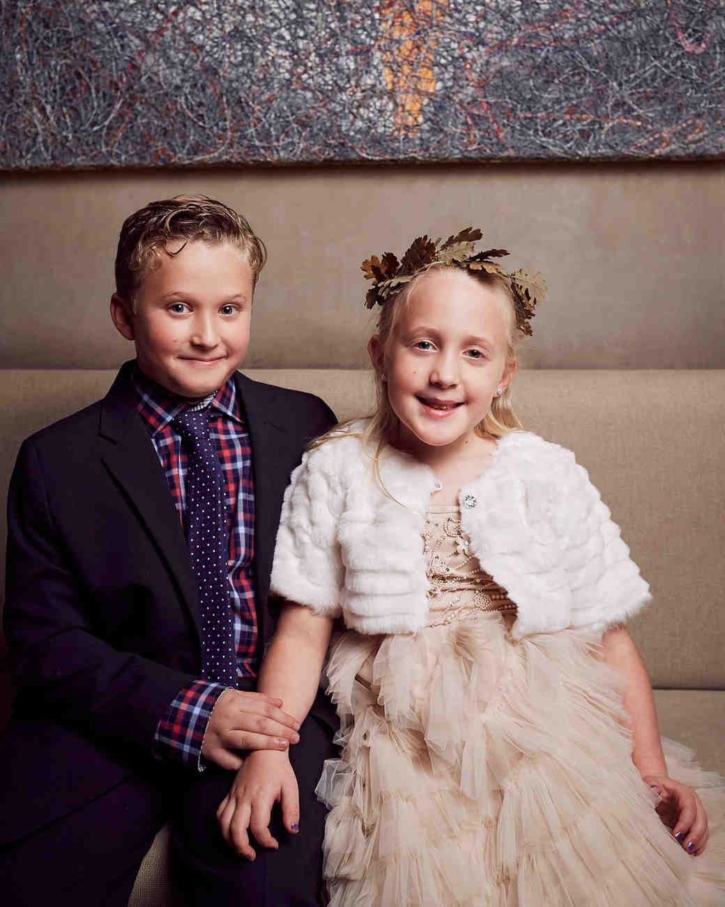 daisy eugene wedding children portrait