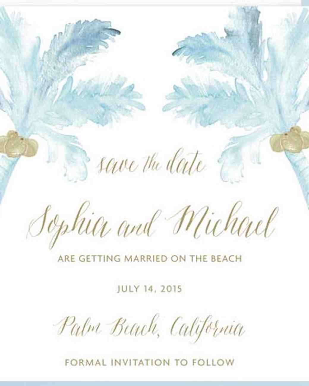Wedding Save Kleobeachfixco - Destination wedding save the date email template