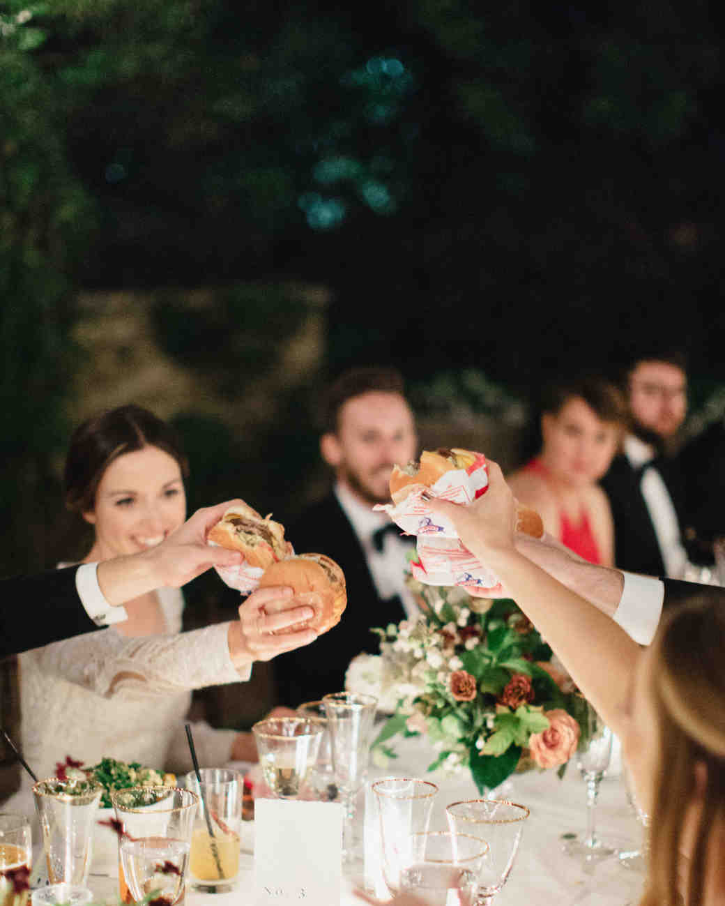 wedding burgers
