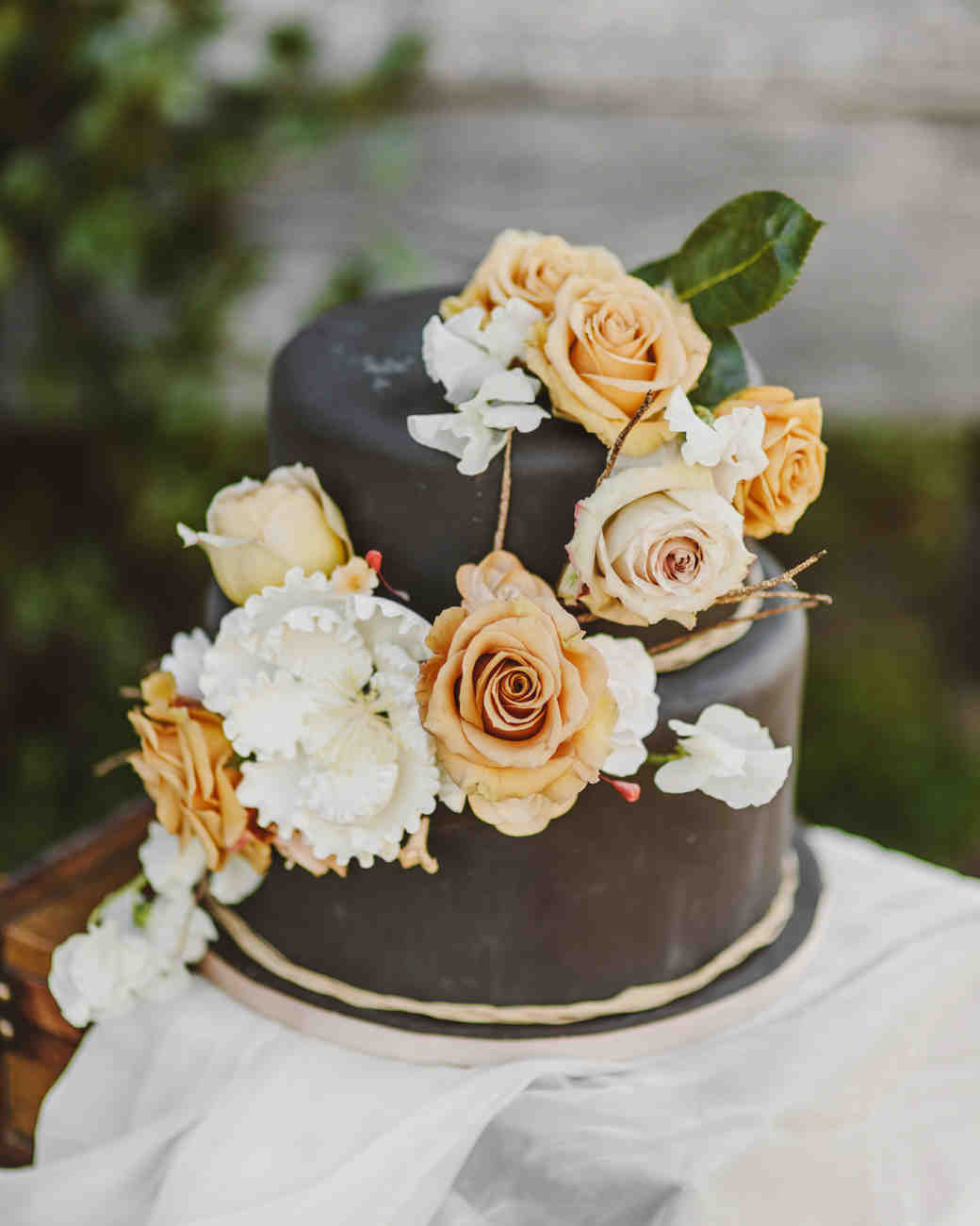 fall wedding cakes kate ann photography