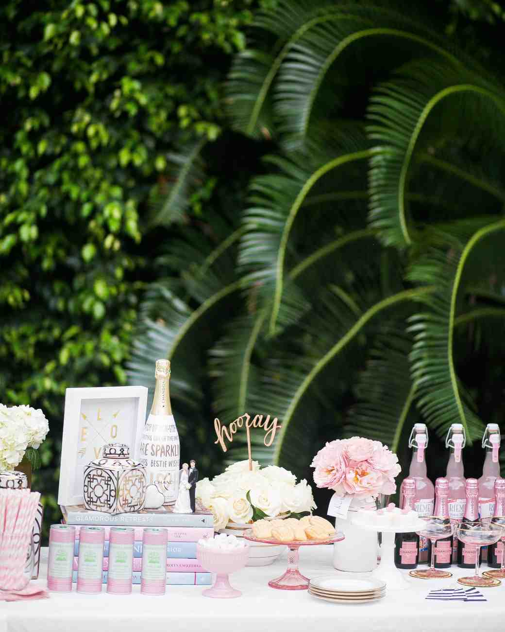 a1341afab83 The Essential Elements of a Bridal Shower Dessert Bar