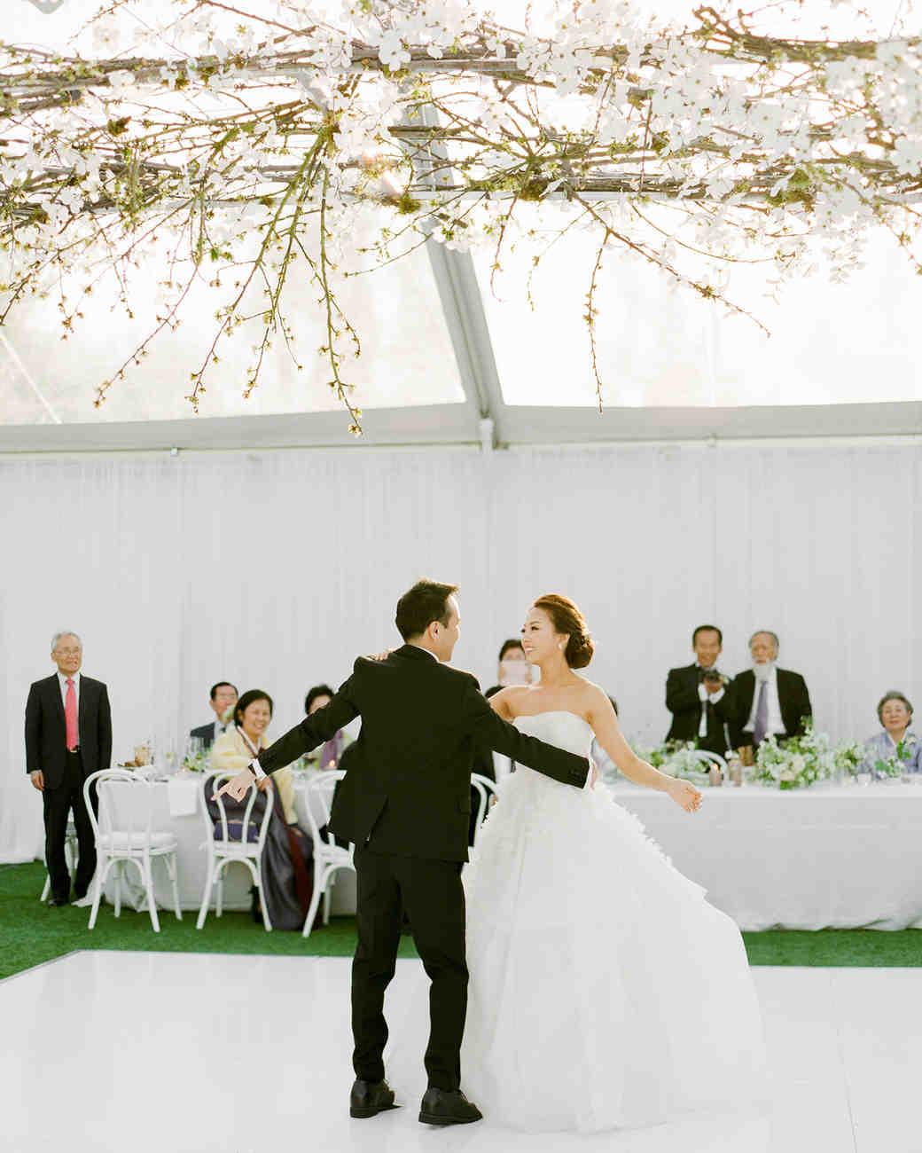 grace ceron wedding first dance bride groom