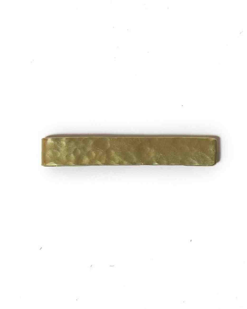 Brass Tie Clip