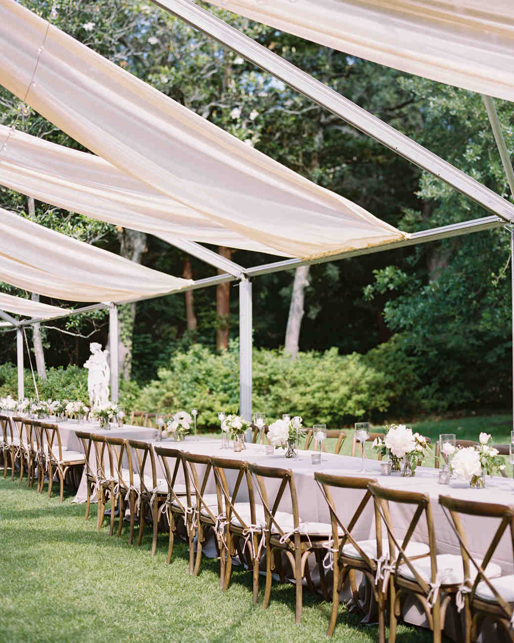 28 Tent Decorating Ideas That Will Upgrade Your Wedding Reception | Martha  Stewart Weddings