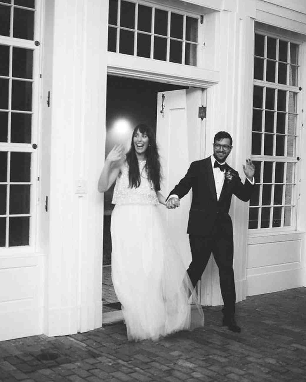 bride groom grand entrance