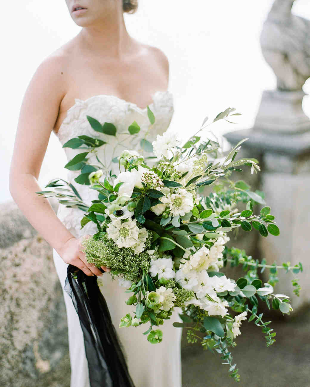 meaningful white bouquet