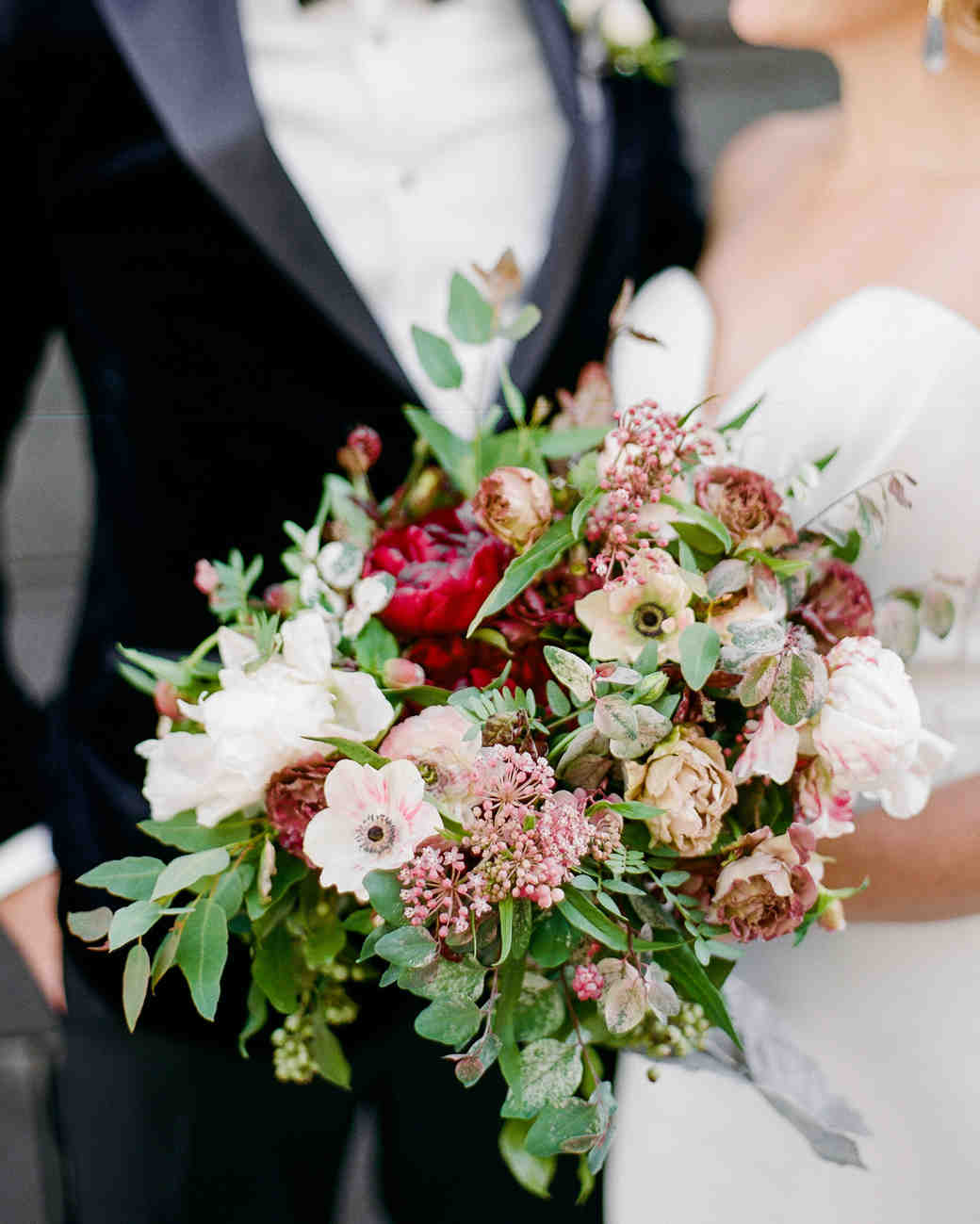 katie andre wedding bridal bouquet