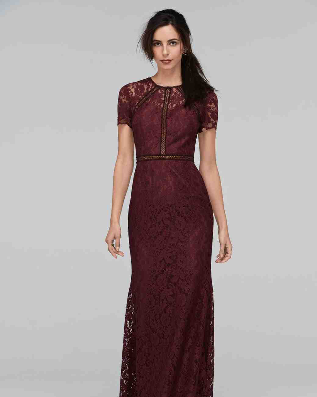 Lace Bridesmaids Dresses Watters Hudson Dress