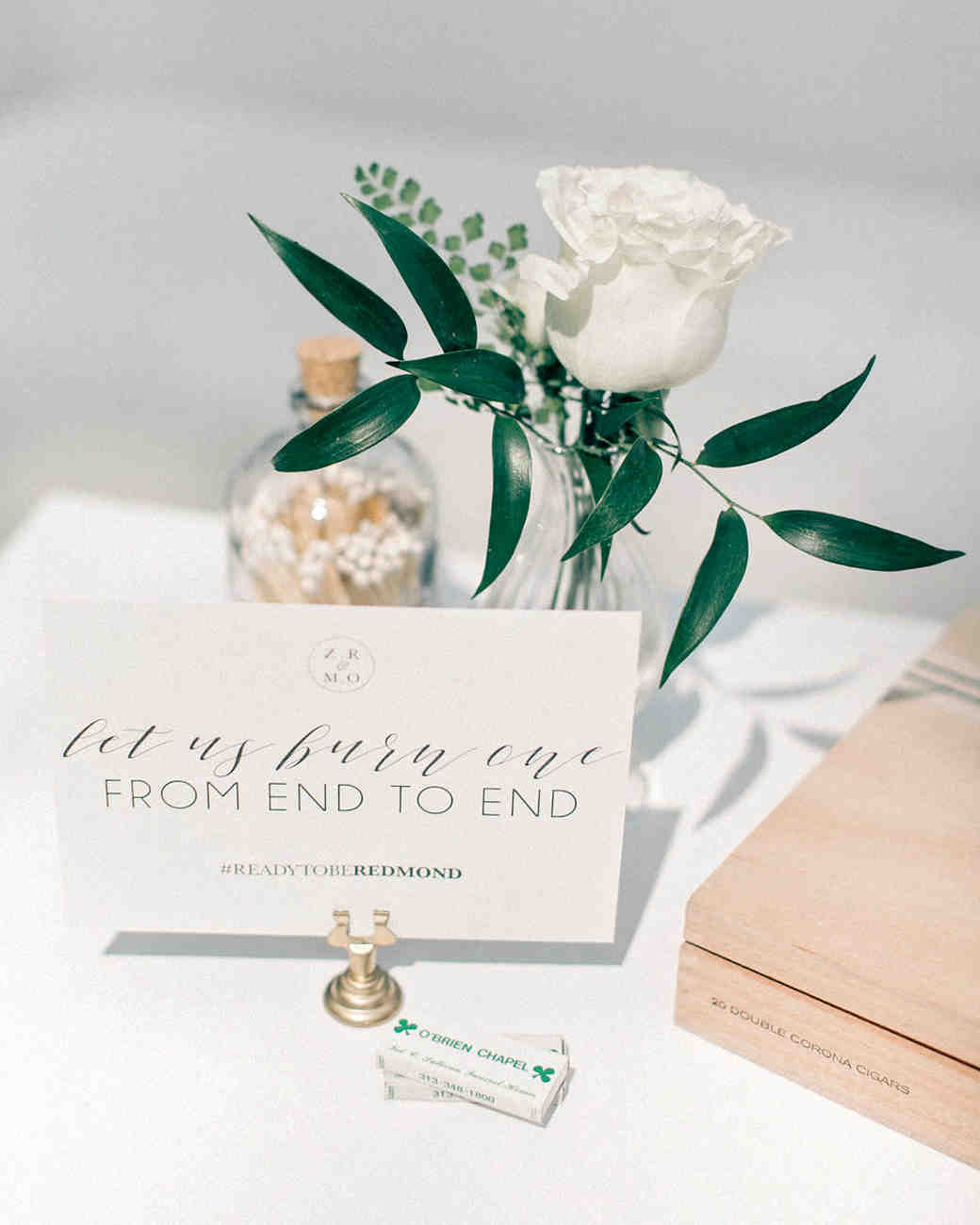 This Couple Made It Official with an Organic, Vintage Wedding in ...