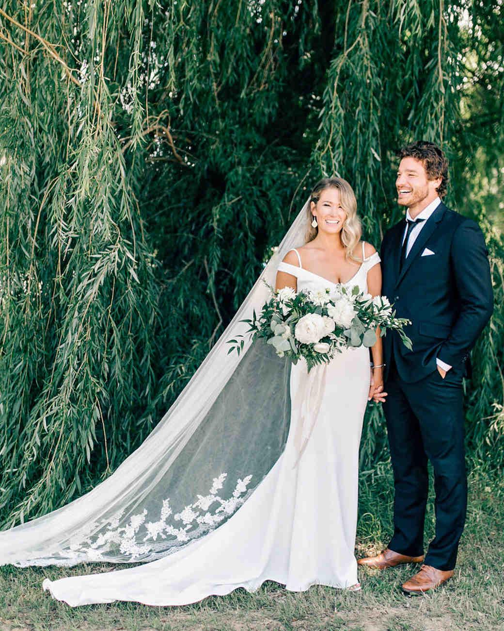 maggie zach wedding candid couple portrait