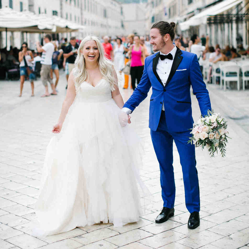 A Modern Seaside Croatian Wedding