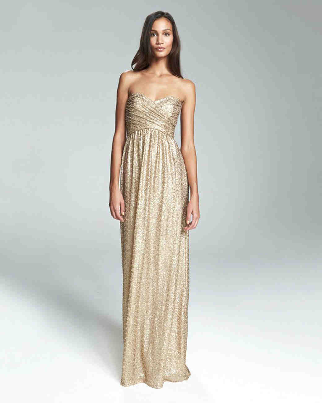 563d5b65d9b Metallic Bridesmaid Dresses That You Can Wear Over and Over Again ...