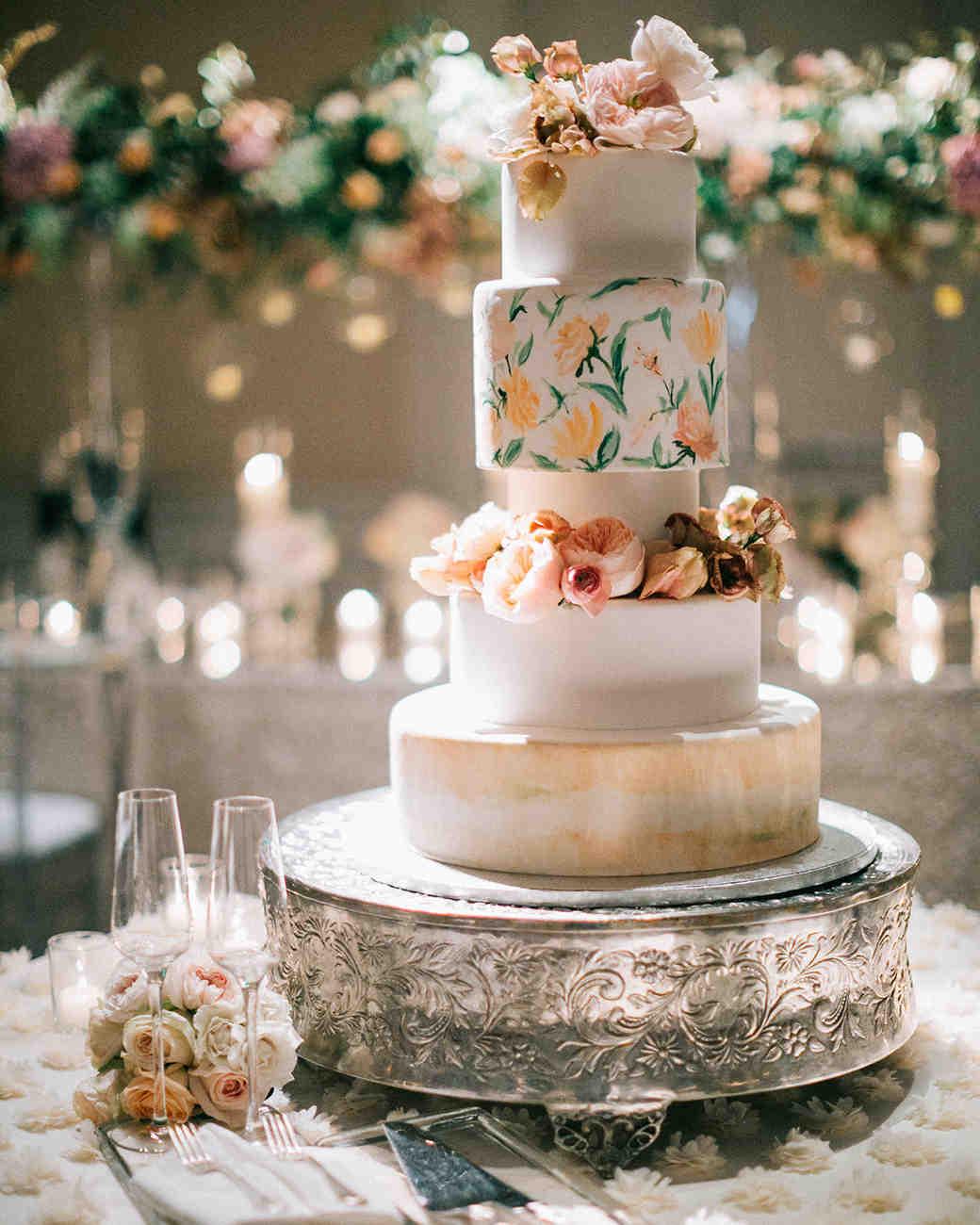 micro tier wedding cakes assorted fondant layers
