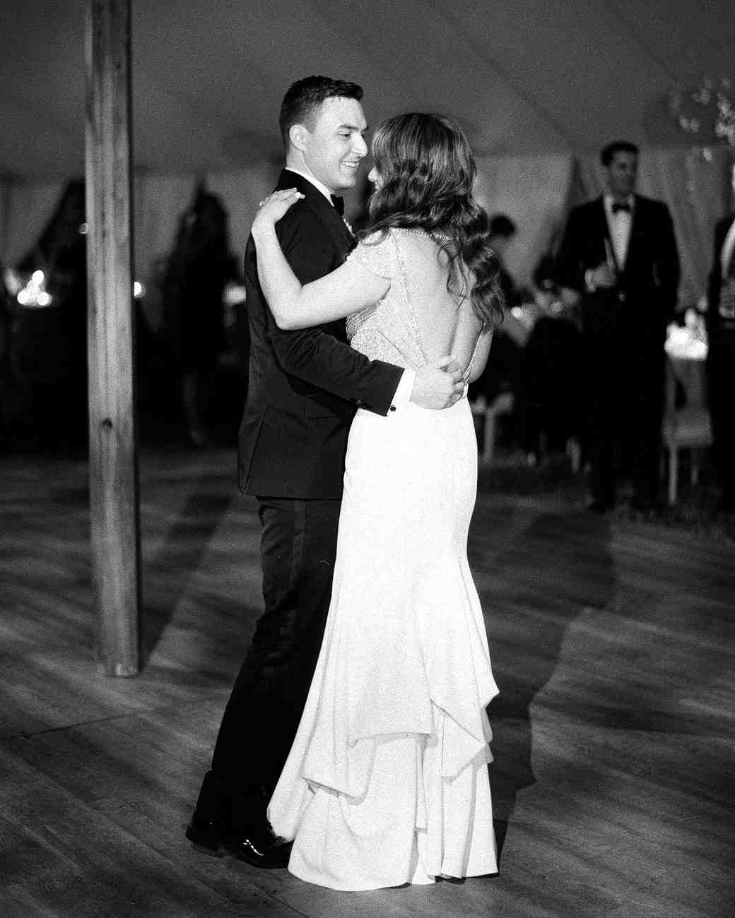 70 first dance songs from real weddings martha stewart weddings rae rob wedding first dance junglespirit Gallery
