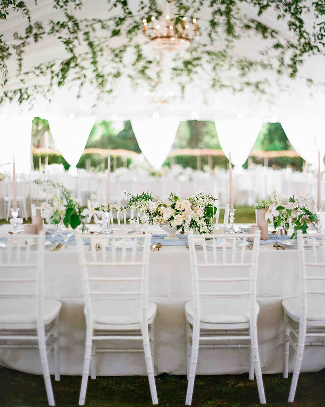 A Light Blue, Jane Austen-Inspired Wedding in California | Martha ...