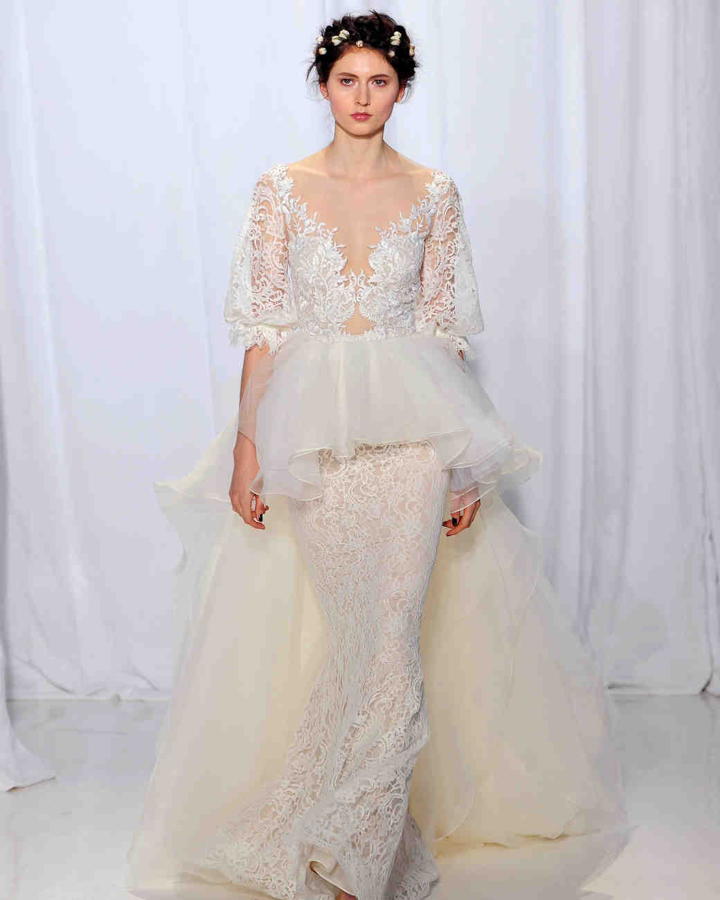 Reem Acra Fall 2017 Wedding Dress Collection
