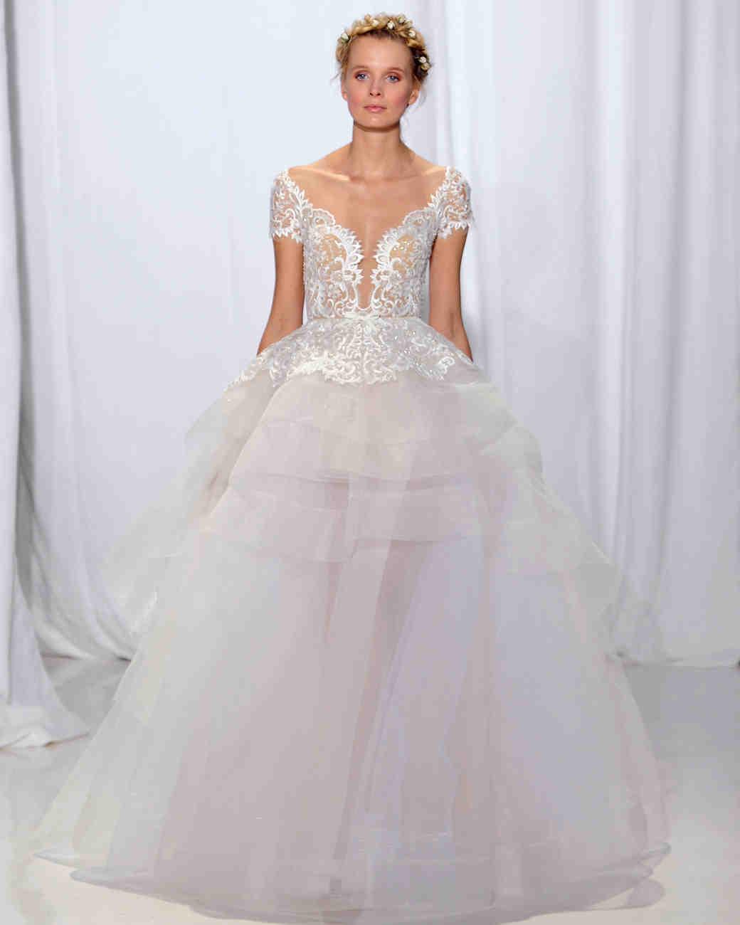 Reem Acra Fall 2017 Wedding Dress Collection