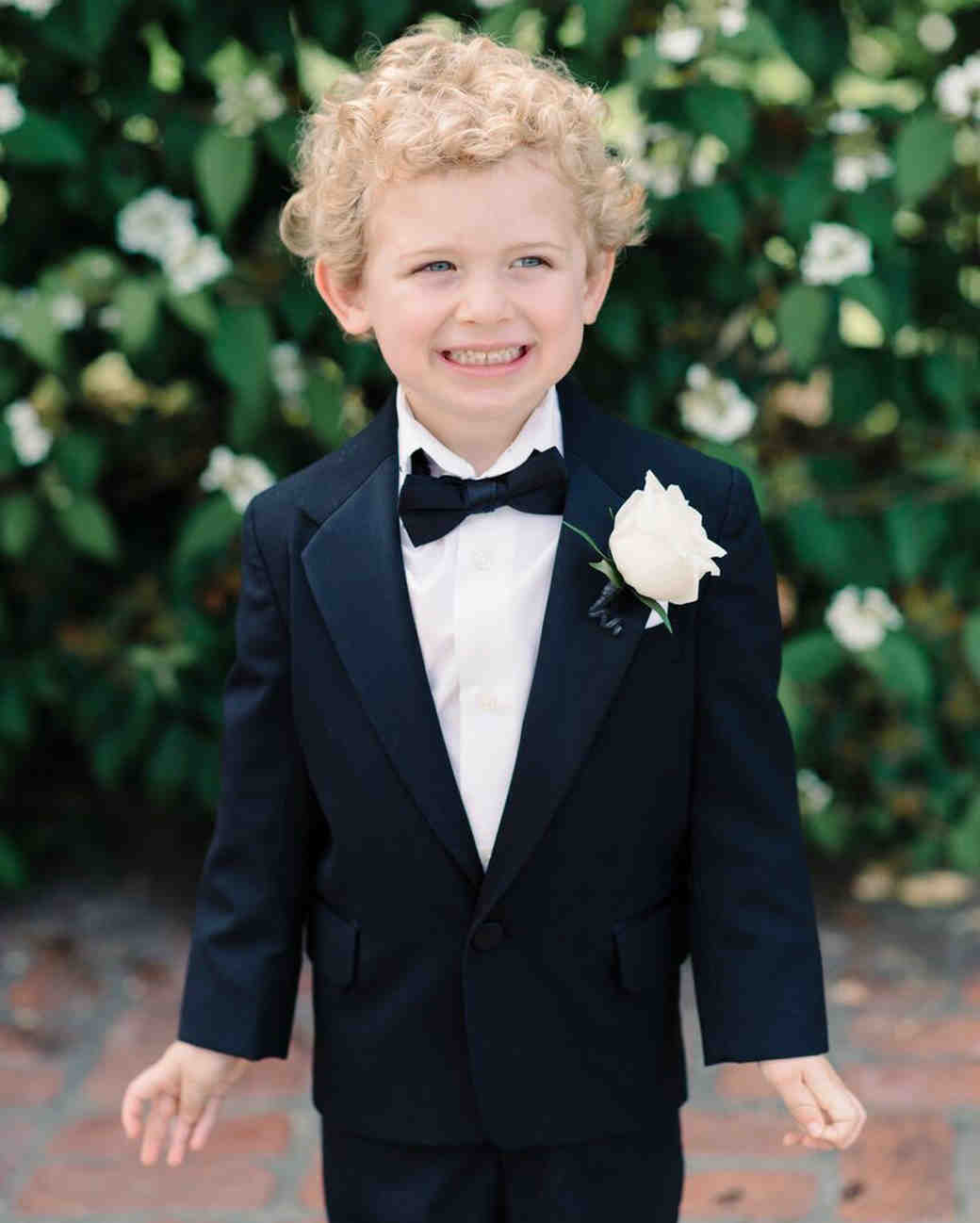 ring bearer boutonnieres michelle lange