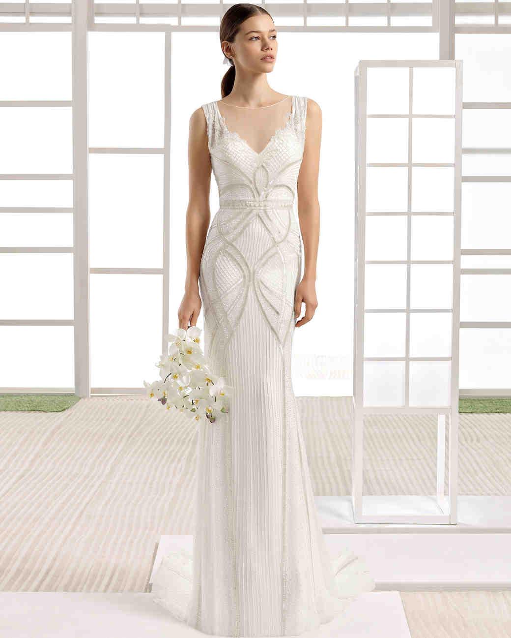 Rosa Clará Fall 2017 Wedding Dress Collection | Martha Stewart Weddings