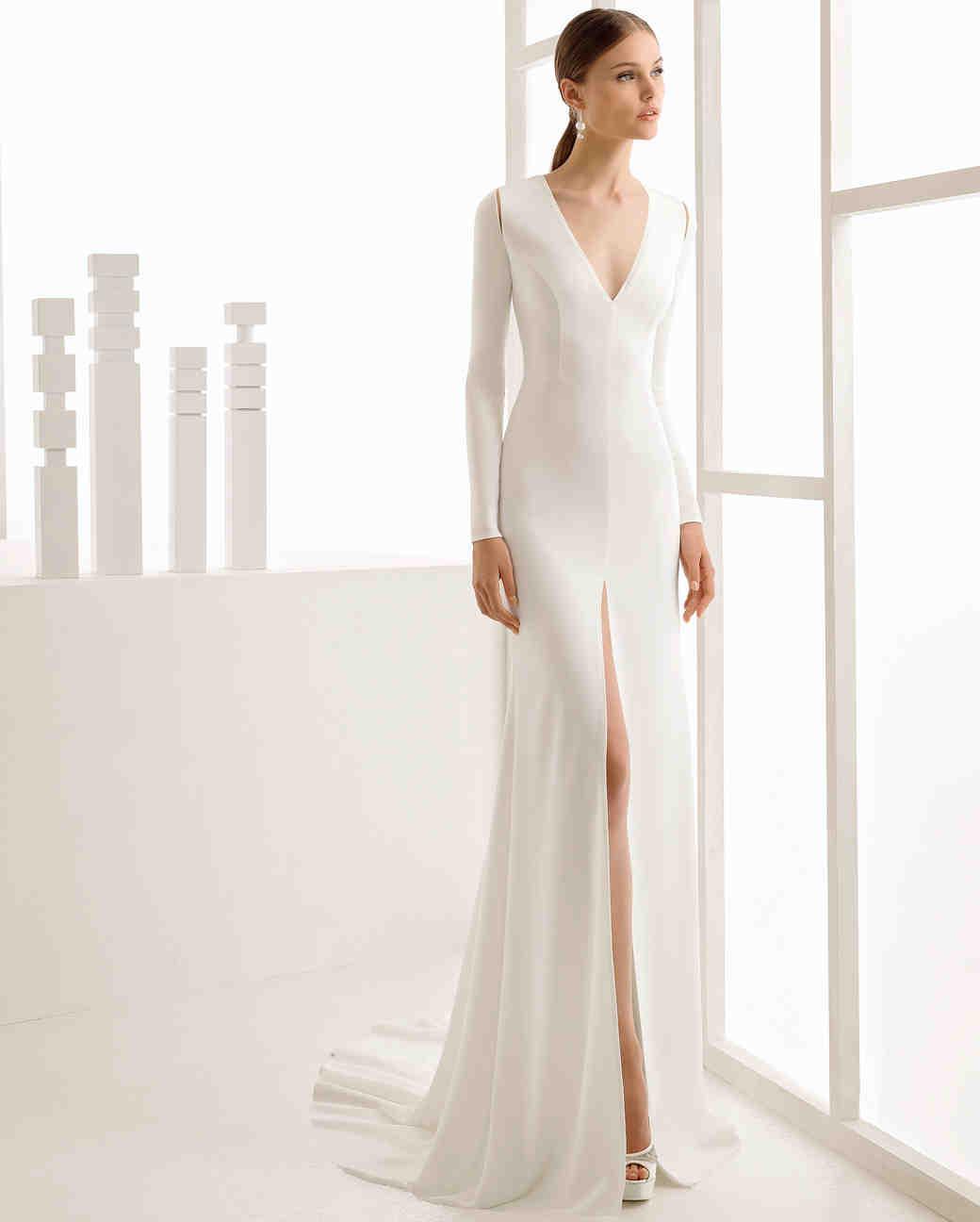 530af3a8a9 Rosa Clará Fall 2017 Wedding Dress Collection