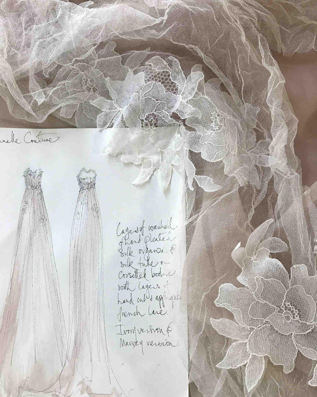samuelle couture dress sketch