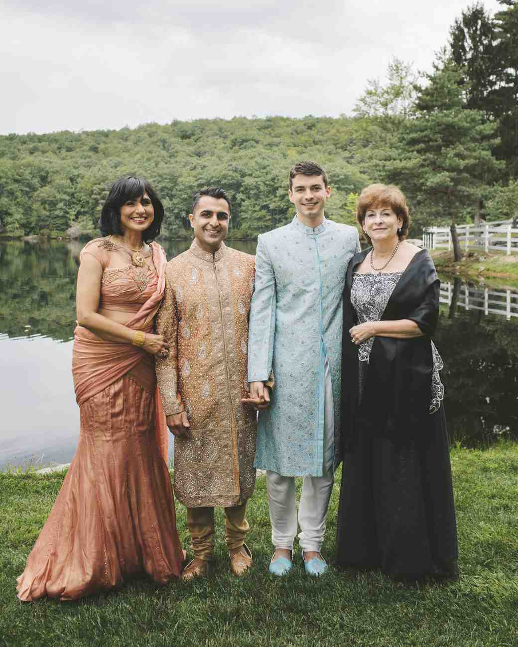 sanjay steven wedding moms