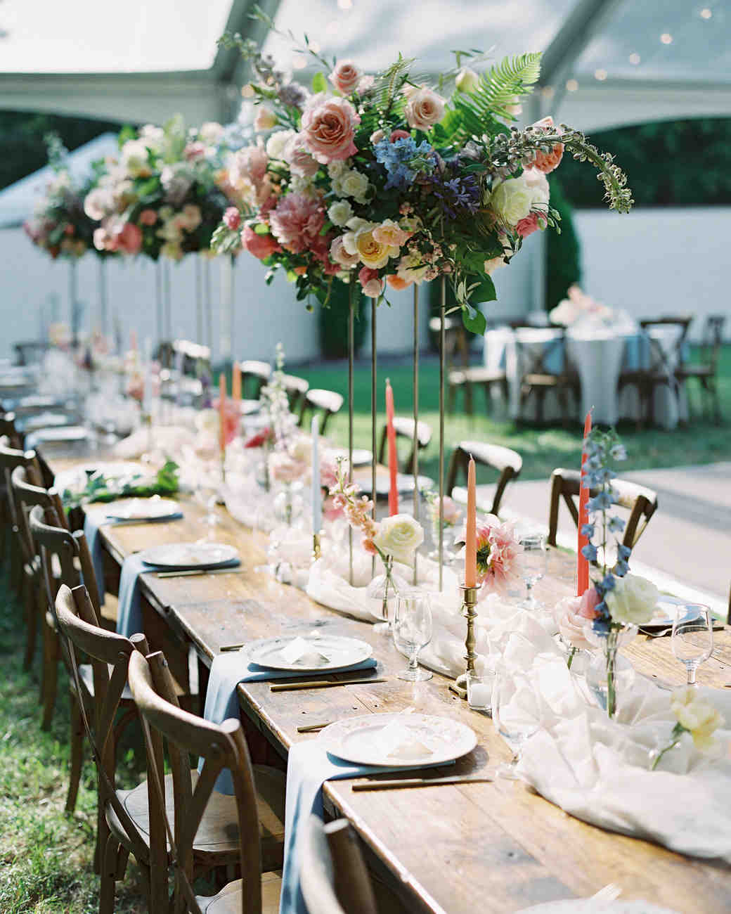 shelby preston wedding reception tables
