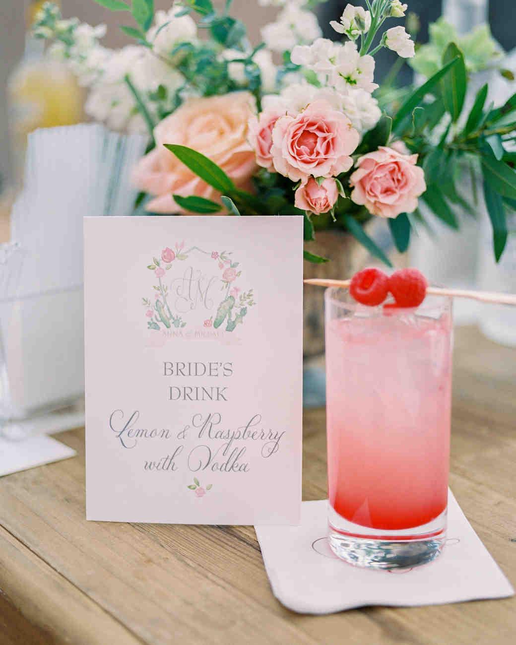 bride signature cocktail